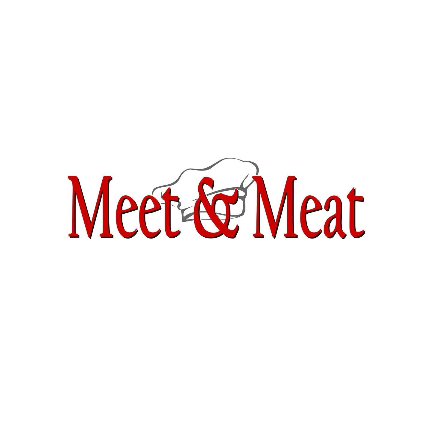 meet and meat logo