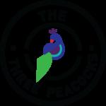 the three peacocks logo
