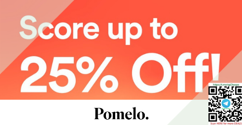 up to 25% off pomelo