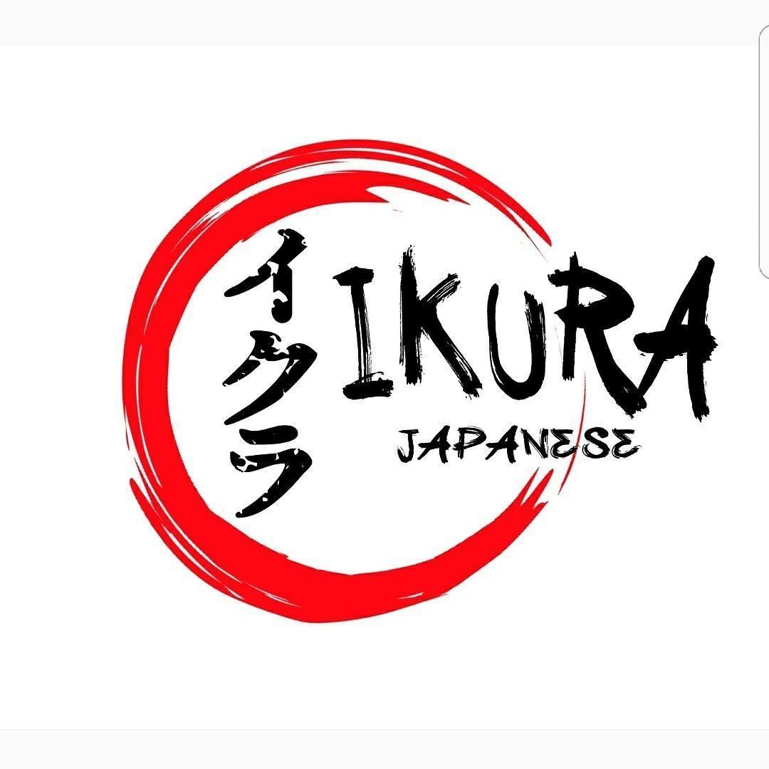 ikura japanese logo