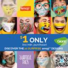 $1 Emoji Masks