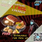 1 free karaage gaijin izakaya promo