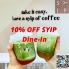 10% OFF SYIP Dine-In