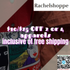 $10$25 OFF on 2 or 4 apparels promo