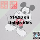 $14.90 on Uniqlo Kids