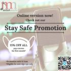 15% OFF Stay Safe Promotion (1)