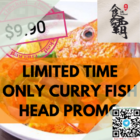 18 seafood curry fish head 9.90 promo