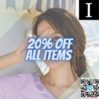 20% OFF ALL items promo