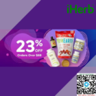 23% OFF iHerb products