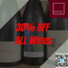30% OFF ALL Wines (1)