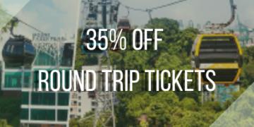 35% OFF Round Trip Tickets