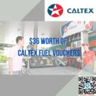 $36 worth of Caltex Vouchers