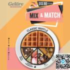45% OFF Classic Waffle