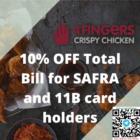 4fingers 10% off bill safra promo
