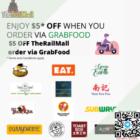 $5 OFF TheRailMall order via GrabFood