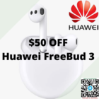 $50 OFF Huawei FreeBud 3