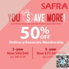 50% OFF SAFRA MEMBERSHIP (1)