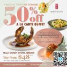 50% off Ala Carte Buffet