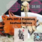 60 off 2 premium seafood items 18 seafood promo