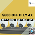 $600 OFF D.I.Y 4X CAMERA PACKAGE