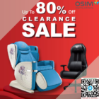 80% OFF CLEARANCE SALE