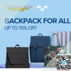 Up To 70% OFF Backpacks