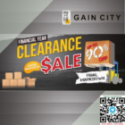 Up to 90% OFF Gain City