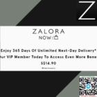 Zalora NOW VIP Member promo