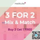 buy 2 get 1 free medicube gss promo