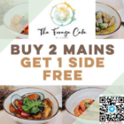 buy 2 mains 1 side free the forage cafe promo