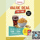 cathay value deal for 2 promo
