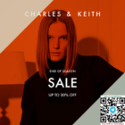 charles & keith end of season sale up to 30% off promo