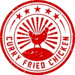 curry fried chicken logo