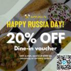 dumplings ru 20 off dine in voucher promo