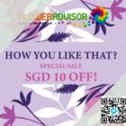 floweradvisor $10 off how you like that promo