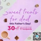 godiva 30% off fathers day sweet treats promo
