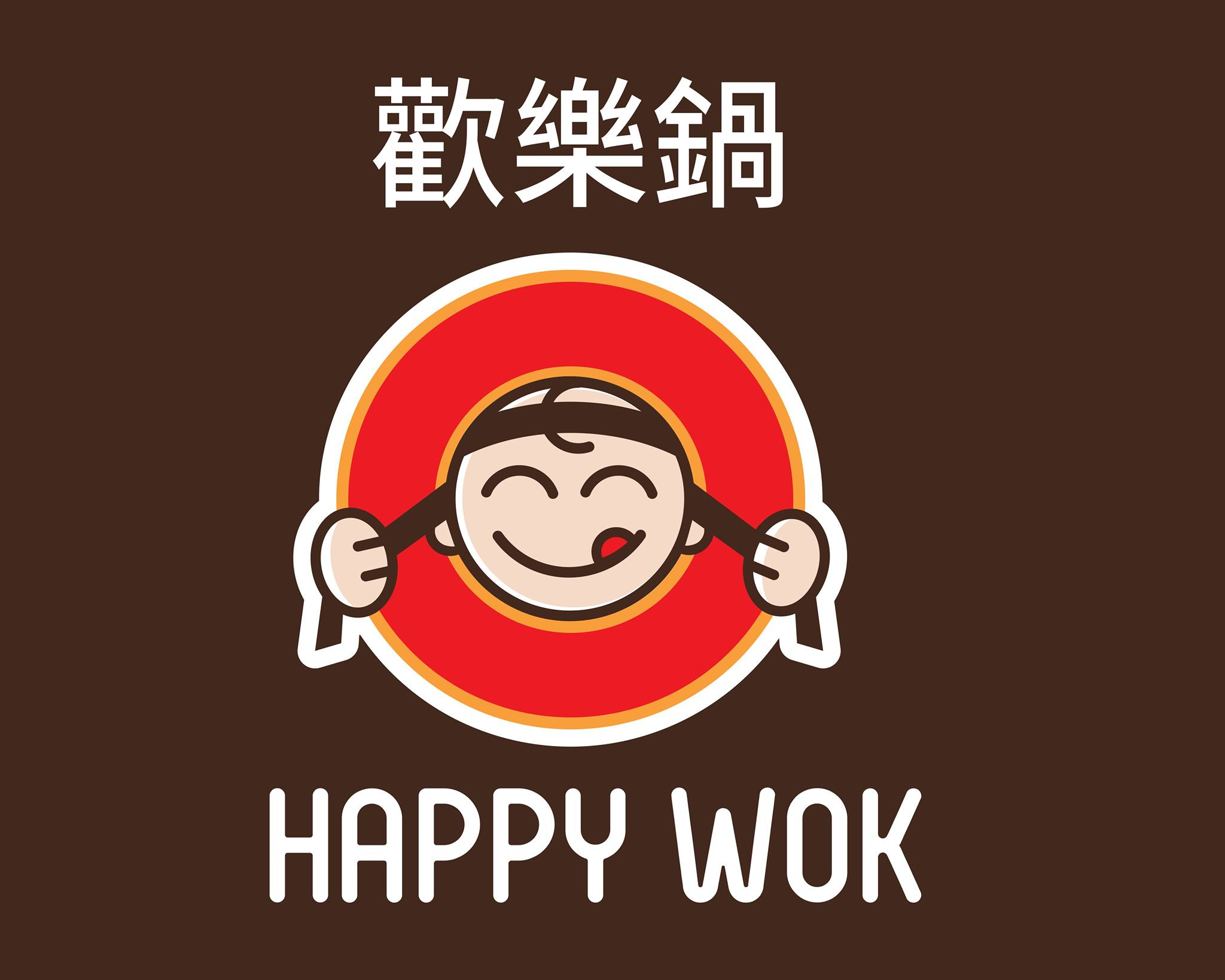 Happy Wok Logo