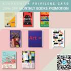 kinokuniya monthly 20 off books june promo