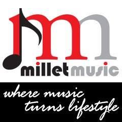 millet music logo