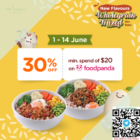 mr bean 30% off foodpanda promo