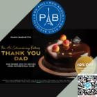 paris baguette fathers day pickup 10% off promo