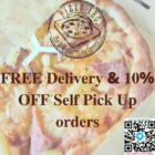pizza arc 10% off delivery promo