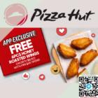 pizza hut honey roasted wings 6pcs free promo