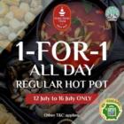 1-FOR-1 Hotpot Buffet