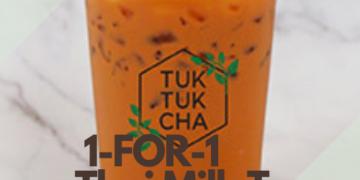 1-FOR-1 Thai Milk Tea