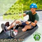 1 for 1 luge skyride sentosa july promo