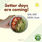 10% OFF Acai