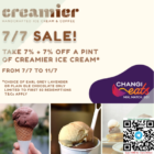 14% OFF Creamier pints