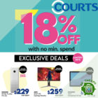 18% OFF Courts