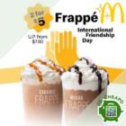 2 for $5 Mcdonald's Frappé